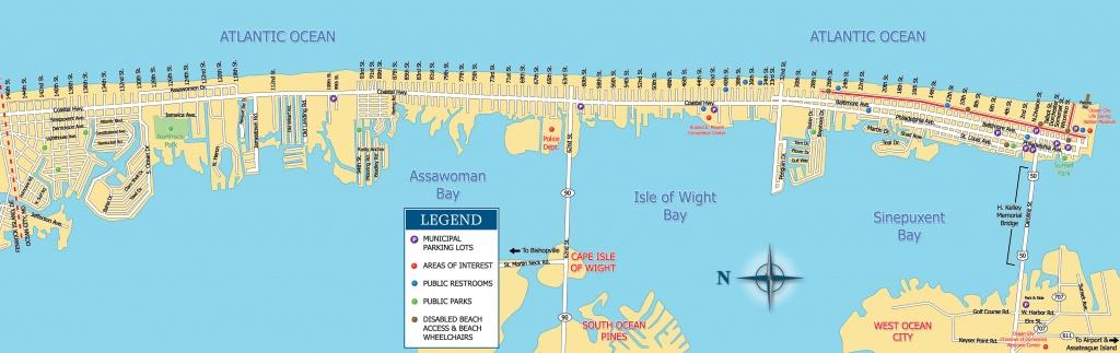 Printable Coupons | Ocean City Visitor Guide - Printable Map Of Ocean City Md Boardwalk