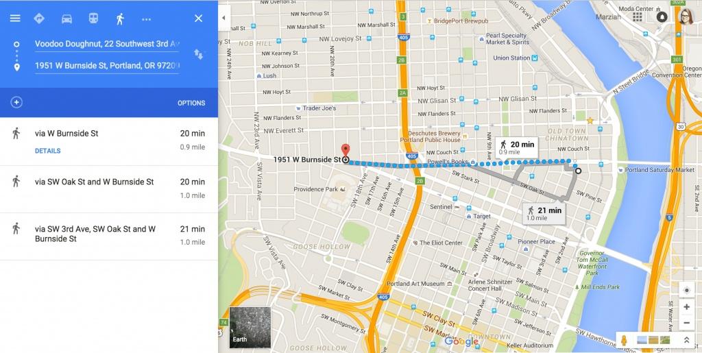 Printable Driving Maps - Hepsimaharet - Printable Directions Google Maps