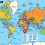 Printable Large World Map   Iloveuforever   Free Large Printable World Map