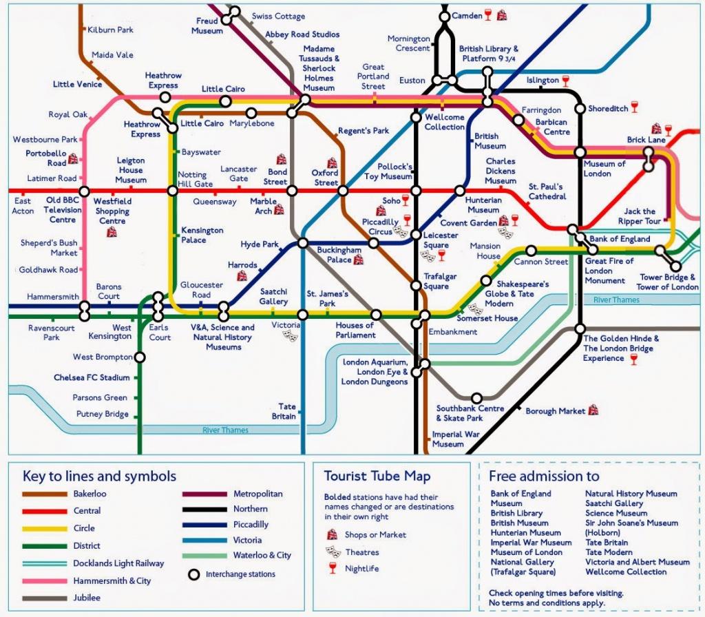 Printable London Underground Map 2015 - C # Ile Web' E Hükmedin! - Printable Map Of The London Underground