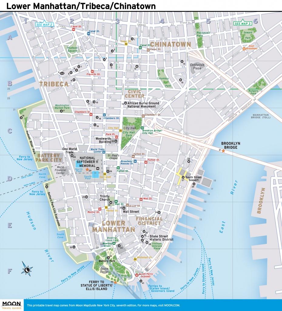 Printable Manhattan Street Map Download Printable Street Map New - Printable Map Of Lower Manhattan Streets
