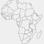 Printable Map Of Africa | Africa World Regional Blank Printable Map – Printable Map Of Africa With Countries
