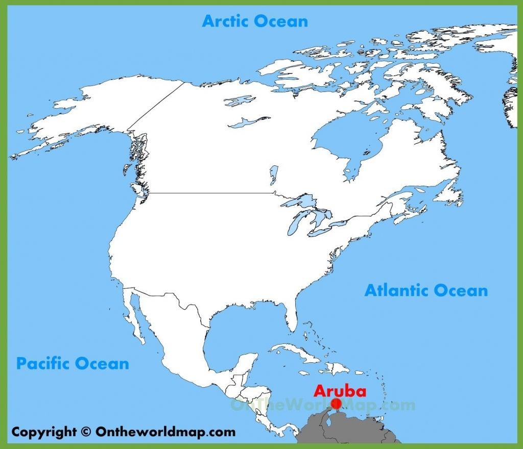 Printable Map Of Aruba | D1Softball - Printable Map Of Aruba