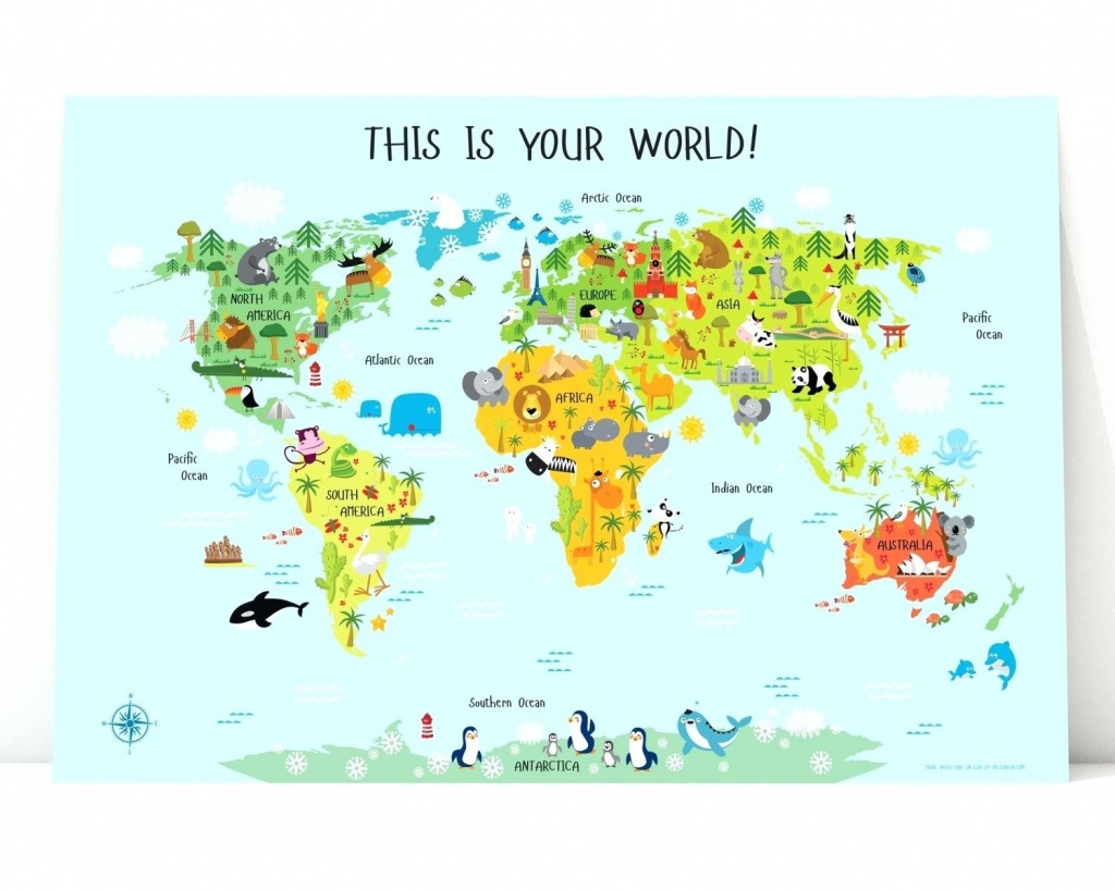 Printable Map Of Asia For Kids - World Wide Maps - Printable Map Of Asia For Kids