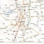 Printable Map Of Austin Texas And Surrounding Cities Neighborhoods   Printable Map Of Austin Tx