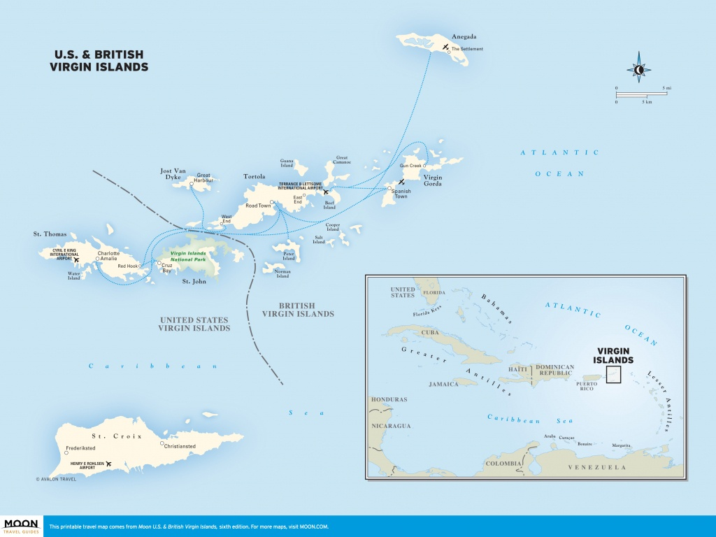 Map Of Us And Caribbean Islands | World Map - Maps Of ...