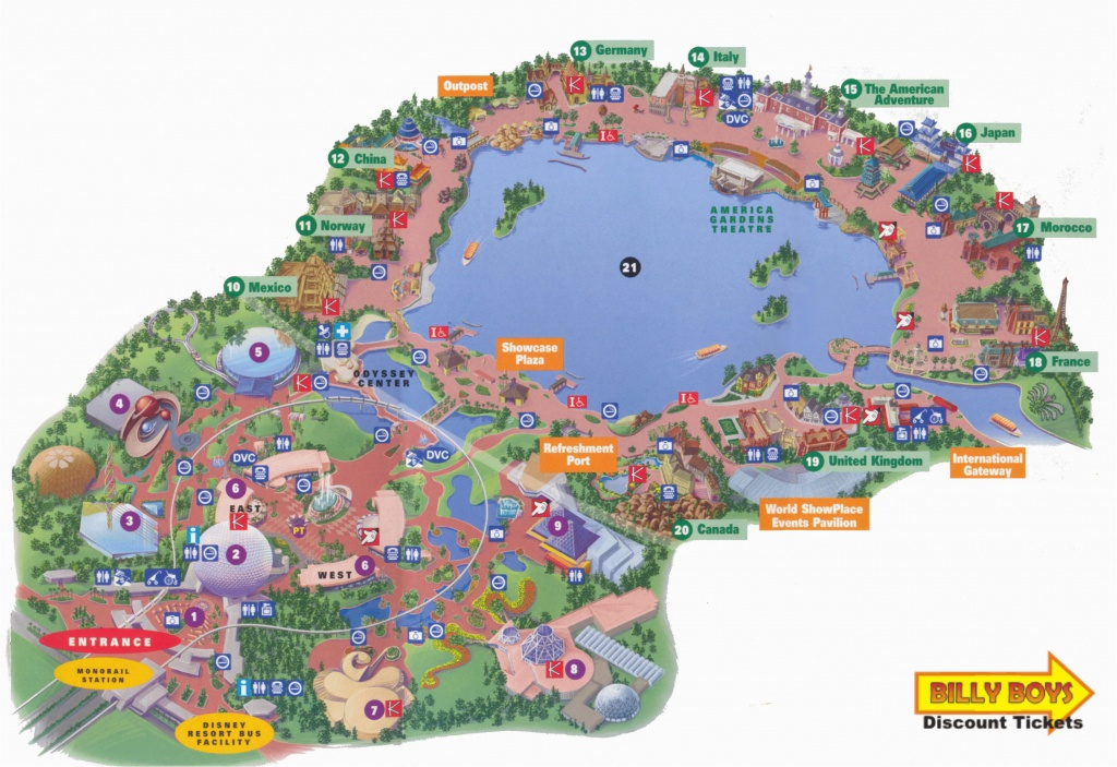 Printable Map Of Disneyland And California Adventure Printable Map - Printable Map Of Disneyland And California Adventure