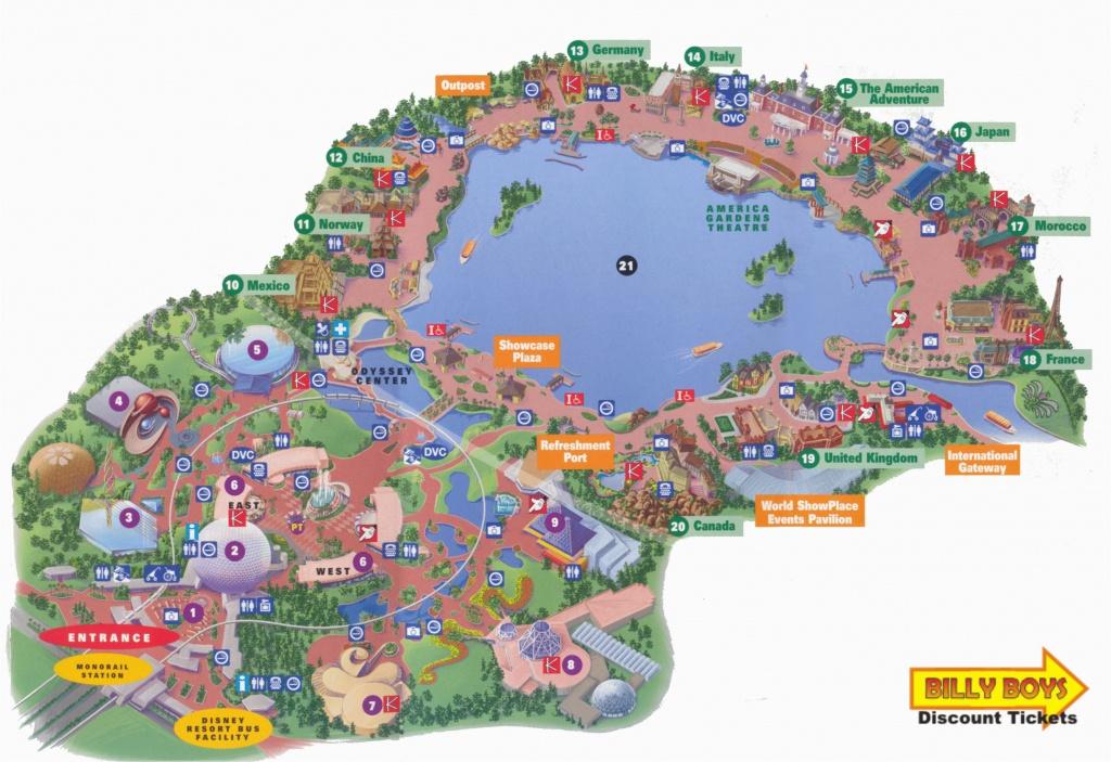 Printable Map Of Disneyland And California Adventure Printable Map - Printable Map Of Disneyland And California Adventure