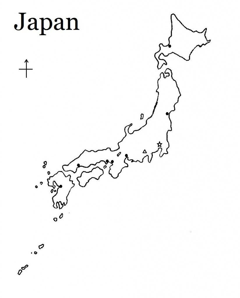 Printable Map Of Japan   Build My Brain!   Japan Country, Map - Printable Map Of Japan
