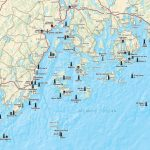 Printable Map Of Maine Lighthouses | Time Zones Map - Printable Map Of Maine Lighthouses