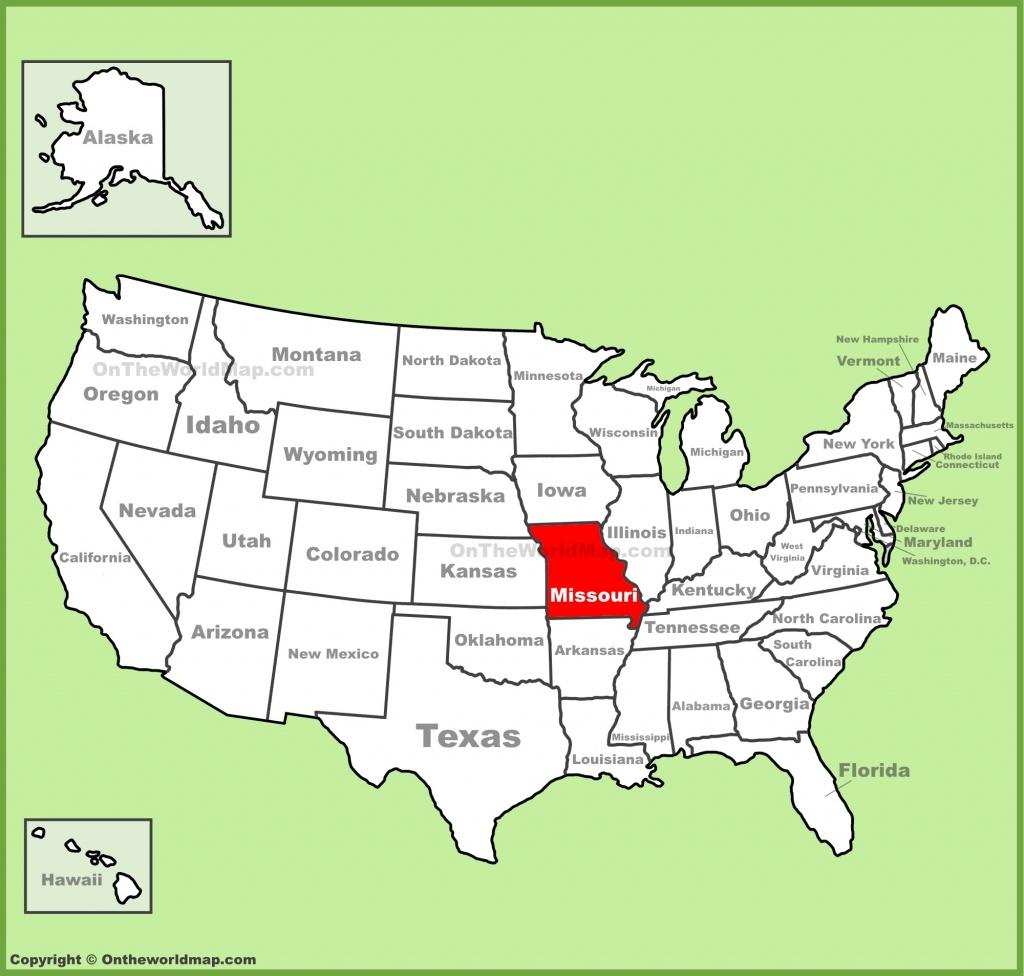 Printable Map Of Missouri - Lgq - Printable Blank Map Of Missouri