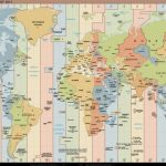 Printable Map Of Us Time Zones Usa Zone New World In Timezones Best   Printable World Time Zone Map