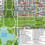 Printable Map Washington Dc | National Mall Map   Washington Dc   Tourist Map Of Dc Printable