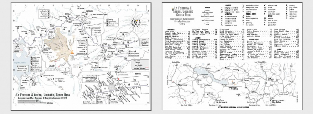 Printable Maps Of All Costa Rica & Details Maps Of Popular Destinations - Free Printable Map Of Costa Rica