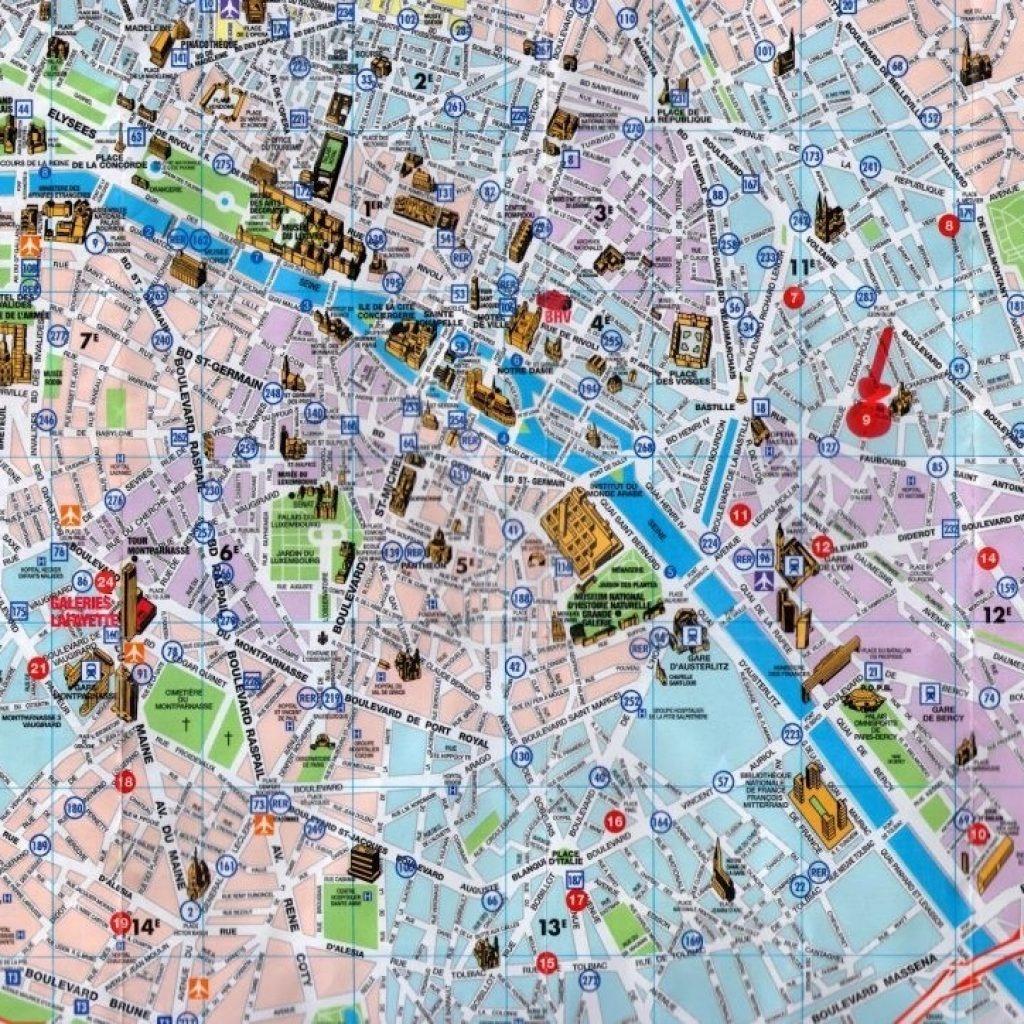 Printable Maps Of Paris 12 Map Com - Paris Printable Maps For Tourists