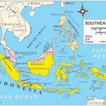 Printable Maps Of Southeast Asia | D1Softball - Printable Map Of Southeast Asia