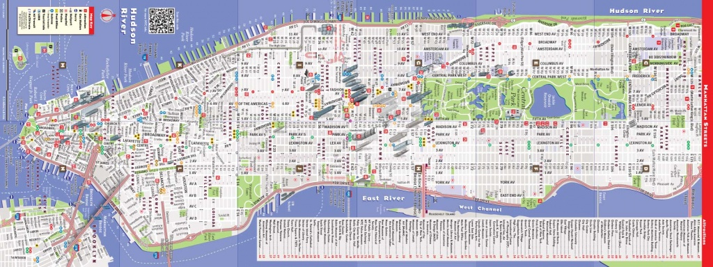 Printable New York Street Map Quick Updated Nyc Maps | Travel Maps - Printable New York Street Map