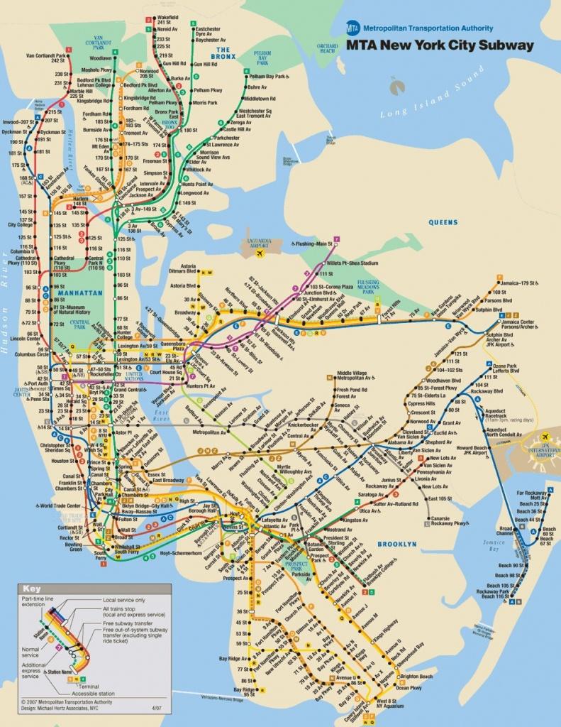 Printable New York Subway Map ~ Afp Cv - Printable New York Subway Map