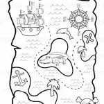 Printable Pirate Treasure Map For Kids✖️adult Coloring Pages➕More   Make Your Own Treasure Map Printable