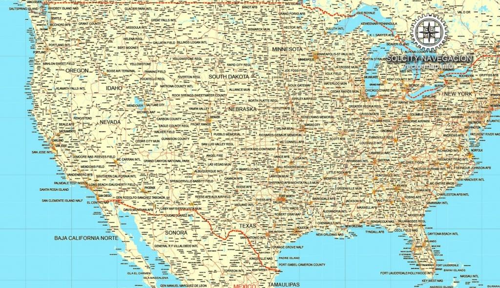 Printable Road Map Of Usa - Maplewebandpc - Printable Road Map Of Canada