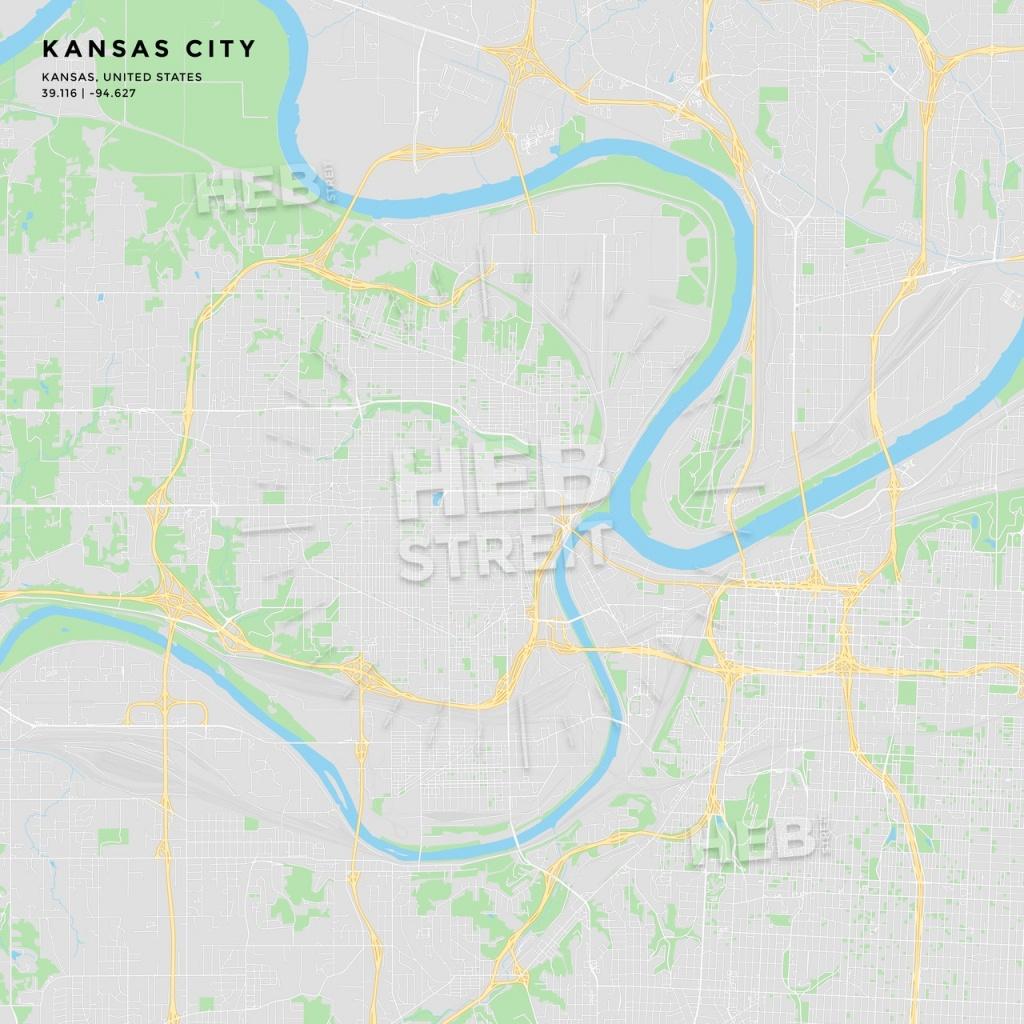 Printable Street Map Of Kansas City, Kansas | Hebstreits Sketches - Printable Street Map Of Wichita Ks