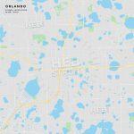 Printable Street Map Of Orlando, Florida | Hebstreits Sketches   Printable Map Of Orlando
