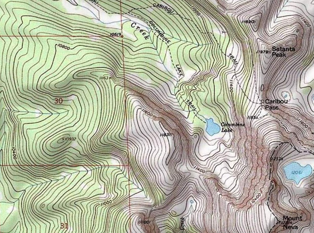 Printable Topo Maps (77+ Images In Collection) Page 2 - Printable Topo Maps