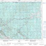 Printable Topographic Map Of Edson 083F, Ab   Free Printable Topo Maps Online