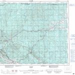 Printable Topographic Map Of Edson 083F, Ab   Printable Topo Maps Online