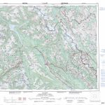 Printable Topographic Map Of Golden 082N, Ab   Free Printable Topo Maps Online