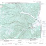 Printable Topographic Map Of Goose Bay 013F, Nf   Printable Topo Maps Online