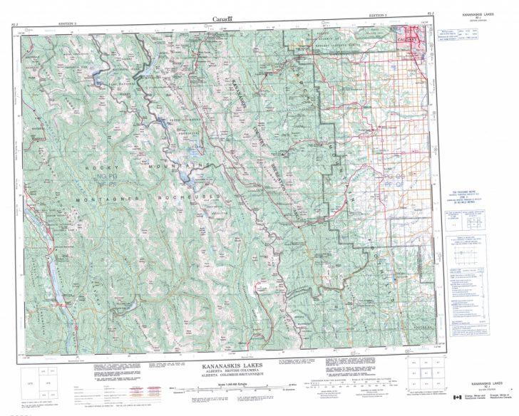 Printable Map Of Alberta