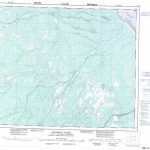 Printable Topographic Map Of Kapiskau River 043B, Nu   Free Printable Topo Maps Online