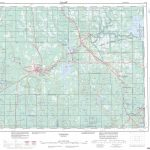 Printable Topographic Map Of Timmins 042A, On   Printable Topographic Maps Free