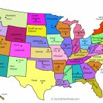 Printable Us Maps With States (Outlines Of America - United States) - Printable Us Map With Capitals