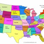 Printable Us Maps With States (Outlines Of America   United States)   United States Color Map Printable