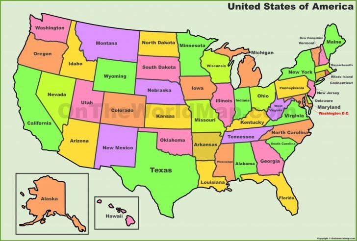 Us Map Printable Pdf