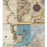 Printable Vintage Map Tags   Call Me Victorian   Free Printable Vintage Maps