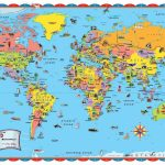 Printable World Map Poster Size Save With For Kids Countries   Printable Maps For Kids