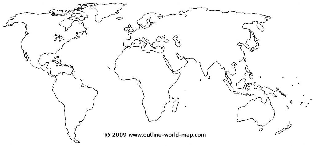 Printable World Map - World Wide Maps - Blank World Map Printable Worksheet