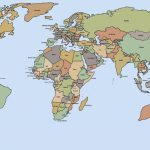 Printable World Maps - World Maps - Map Pictures - Printable World Map With Countries Labeled Pdf