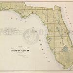 Prints Old & Rare   Florida   Antique Maps & Prints   Boating Maps Florida