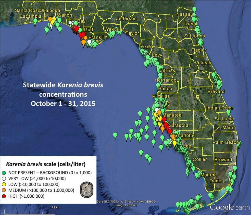 Promised Action On Toxic Algae Issue Fizzles - News - Sarasota - Toxic Algae In Florida Map
