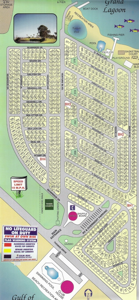 Map Of Panama City Beach Florida Condos