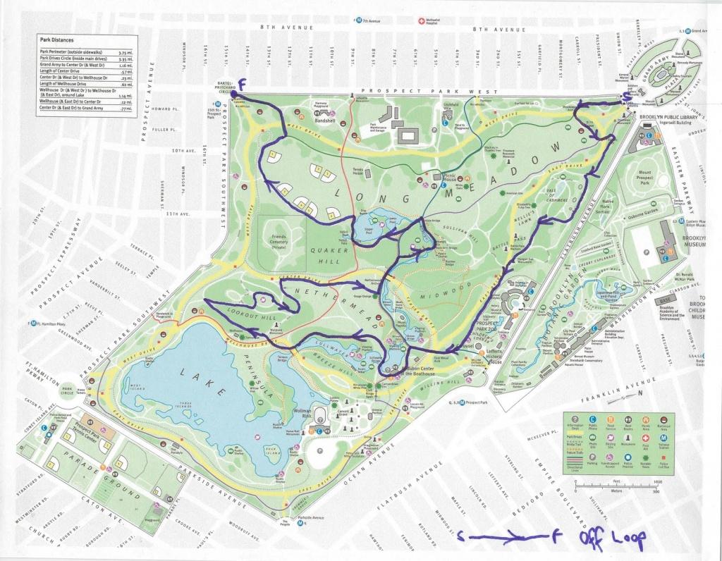 Prospect Park Map - Prospect Park Map Printable