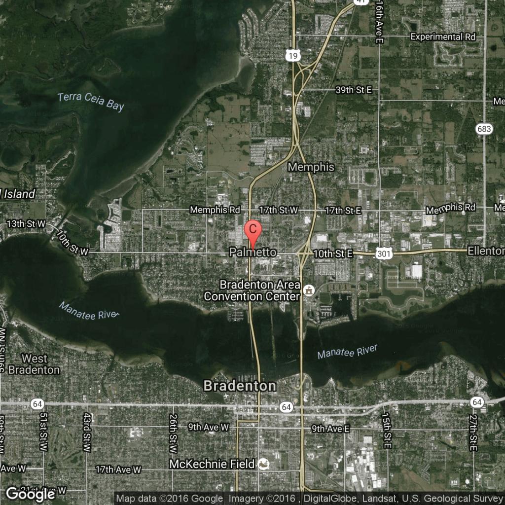 Public Golf Courses In Palmetto, Florida | Usa Today - Palmetto Florida Map