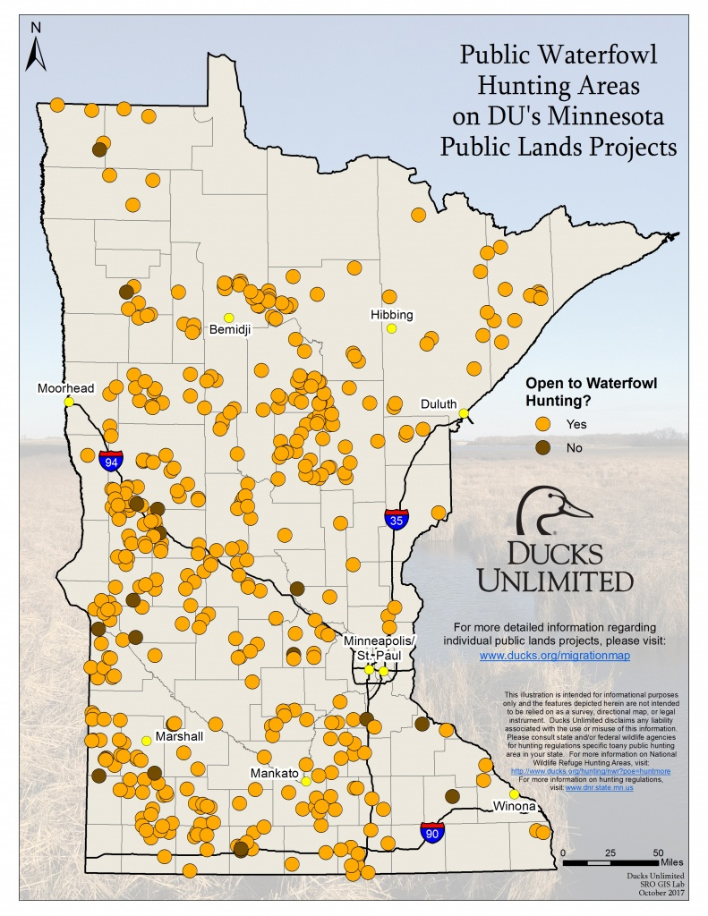 Public Waterfowl Hunting Areas On Du Public Lands Projects - Florida Public Hunting Land Maps