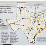 Public Waterfowl Hunting Areas On Du Public Lands Projects - Texas Public Deer Hunting Land Maps