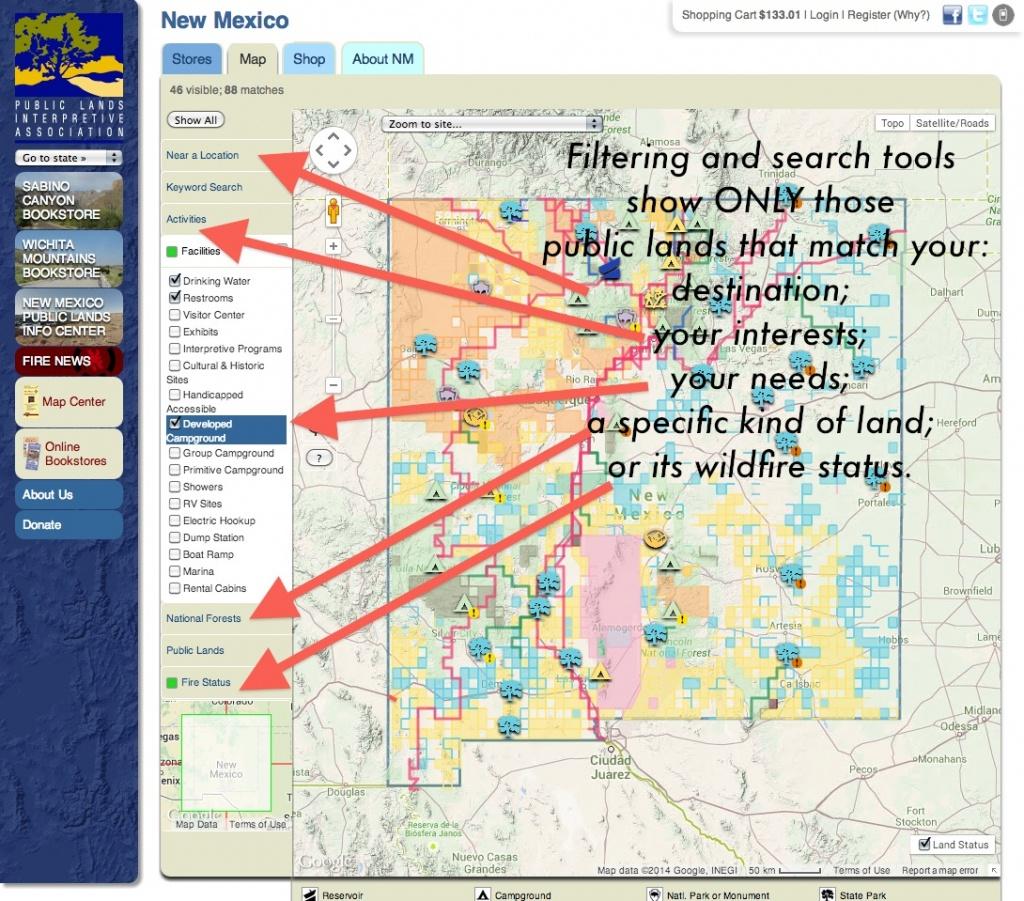 Publiclands   Montana - Blm Land California Shooting Map