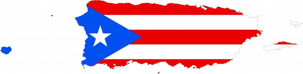 Puerto Rico Flag Outline | Sksinternational - Outline Map Of Puerto Rico Printable